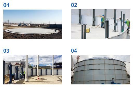 GFS Tanks Manufacturing methods